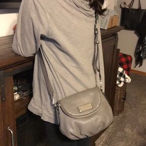 Marc Jacob gray crossbody bag